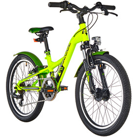s'cool XXlite 20 7-S alloy Kinder lemon matt